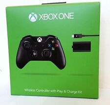 CONTROLLER Wireless Microsoft Ufficiale Xbox One Play & Charge Kit & 3,5 mm Jack