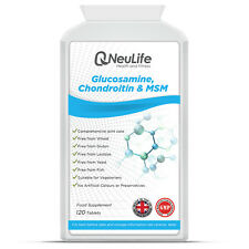 Glucosamine 500mg Chondroitin 100mg and MSM 100mg - 120 Tablets