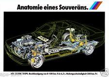 BMW M5  Motorsport cutaway Large promo poster