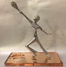 Lawn Tennis Tenis Sports Hagenauer Mirror Base Art Deco