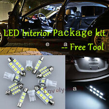 LED Interior Package Kit License Plate Bulb Xenon White 12pc For Pontiac GTO R7