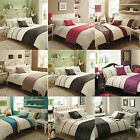 New Luxury 5pc Bed in a Bag Bedding Duvet Quilt Cover Set in Double & King Size