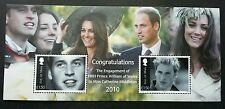 Isle Of Man Royal Engagement Prince William Ms Catherine Middleton 2010 (ms) MNH