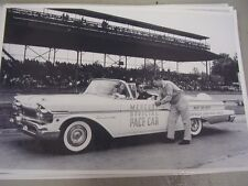 1957 MERCURY  INDY 500 PACE CAR CONVERTIBLE   12 X 18 LARGE PICTURE / PHOTO