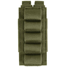 5.11 TACTICAL 5 ROUND SHOTGUN SHELL BANDOLIER MILITARY MOLLE AMMO HOLDER TAC OD