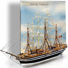 HELLER 1/150 'AMERIGO VESPUCCI' STEEL HULLED THREE MAST OF THE MARINA MILITAIRE