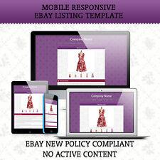 Inserzione eBay Listing template HTML di una pagina, Pagina inserzione Design SPEDIZIONE GRATUITA