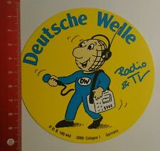 Aufkleber/Sticker: Deutsche Welle Radio TV (120816103)