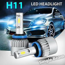 2017 NEW 160W 16000LM PHILIPS LED HEADLIGHT BULBS KIT H11 H8 H9 6500K LOW BEAM