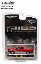 29839 Greenlight Hobby Exclusive 2015 Ford F-150 Fire & Rescue Service Vehicle