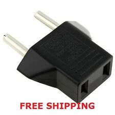 FREE SHIPPING! USA to EUROPE travel adapter. US to EU socket / converter