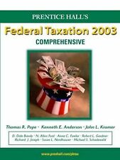 Prentice Hall Federal Taxation 2003: Comprehensive