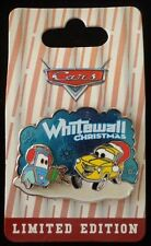 Disney DLR Pin Whitewall Christmas Luigi and Guido from Cars Land Le2000