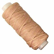 Waxed Braided Cord 25 yds. (22.9 m) Beige Tandy Leather 11210-04