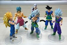 Dragon Ball Z Super Saiyan 6x Action Figures Set: Goku Broly Vegeta Supreme Kai