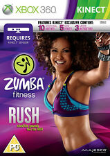 Zumba Fitness Rush XBox 360 *in Excellent Condition*