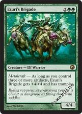1 FOIL Ezuri's Brigade - Scars of Mirrodin MtG Magic Green Rare 1x x1