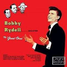 CD BOBBY RYDELL SALUTES THE GREAT ONES MAMMY FRENESI APRIL SHOWERS NICE WORK ETC