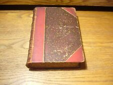 ANTIQUE BOOK LEATHER 1881 THE WORKS OF CHARLES LAMB