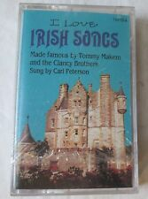 NEW: I Love Irish Songs Sung by Carl Peterson on Cassette 1993