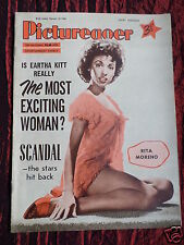 PICTUREGOER - UK MOVIE MAGAZINE - 18 FEB 1956 - EARTHA KITT - ANNA MAGNANI