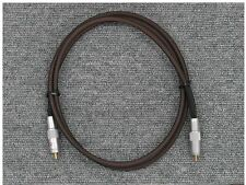 Goldmund Lineal DI Audio Digial Cable RCA 1.5m Swiss JAPAN mimesis telos eidos