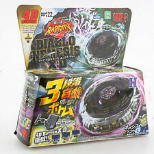 NEW 4D Beyblade Diablo Nemesis X:D Fusion Metal Master Rapidity Fight Battle Set
