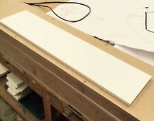 12mm Thick CORIAN BLOCK GLACIER WHITE SOLID SURFACE *MORE AVAILABLE + Hi-macs*