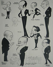 Cyril Scott Eugene Goossons Roger Quilter 1930 Fred May Caricatures Article 7530