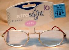XTRA SIGHT by MAGNIVISION READING GLASSES +3.25  #10