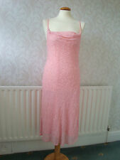 Gorgeous BNWOT Etam Baby Pink Beaded Prom/Evening/Cocktail Dress/Gown 14
