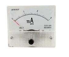 DC 0-3mA Analog AMP Current Panel Meter Ammeter 85C1