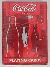 Playing Cards #351-R Coca-Cola Brand Bottle Box - Red Seal - Factory Sealed