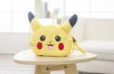 """Pokemon Pikachu Suave Felpa Amarillo Mochila Hombro Bolso 8 """" Linda"""