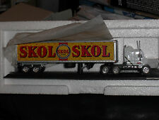 MATCHBOX COLLECTIBLES 1:100 SKOL LAGER SCANIA TRACTOR TRAILER