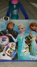 Disney Frozen Lot Zak Plastic Cup Reusable Tote Book Jewelry Set NWT Elsa Olaf!!