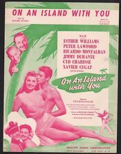 On An Island With You 1948 Esther Williams On An Island With You