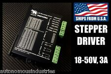 3A 18-50V Driver for NEMA23 and NEMA34 Stepper Motors (DQ542MA)