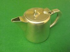 VINTAGE MAPPIN & WEBB SILVER PLATE HALF PINT TEA POT / HOT WATER JUG