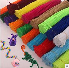 A set of 50 Hot Handmade Shilly-stick Plush Educational Toys DIY art materials