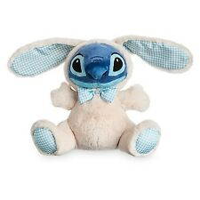 """STITCH EASTER BUNNY PLUSH 10 1/2"""" NWT GENUINE AUTHENTIC DISNEY STORE PATCH"""