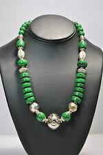 ARTISAN HANDMADE BEAUTIFUL TIBETAN JEWELRY NECKLACE 21""