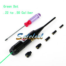 Green Laser Boresighter Power by CR2 Li-ion Bore Sight for .22 to .50