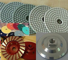 5 Inch Polishing Pad 20 PIECES Concrete grinder Aluminum Back Cup Wheel Granite