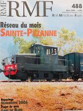 RMF Rail Miniature Flash n°488 2006 - Reseau Sainte - Pazanne  [TR.33]