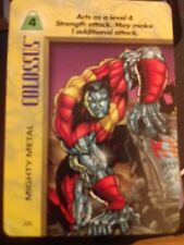 Marvel Overpower IQ Colossus Mighty Metal NrMint-Mint Card