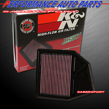 """IN STOCK"" K&N 33-2402 HI-FLOW PANEL AIR INTAKE FILTER 2008-2012 ACCORD 2.4L"