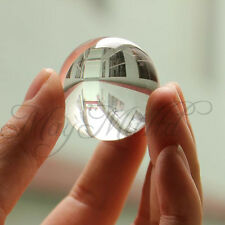 Asian Quartz White Clear Natural Crystal Healing Ball Sphere 40mm Practical I