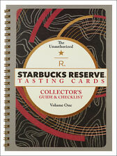 New!  Collector's Guide- Starbucks Reserve Coffee Tasting Cards -Ltd 1st Edition