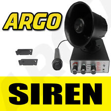 SIREN MIC PA 12V 5 SIREN 5 ANIMAL SOUND HORN AIR SHOW
